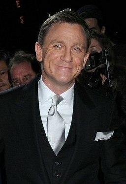Daniel Craig at a film premiere in New York