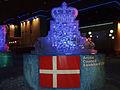 Danmarks statsvapen som isskulptur.jpg