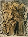 Dante Gabriel Rossetti - King René's Honeymoon - Music (drawing).jpg