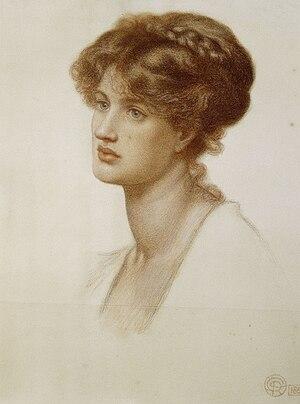Marie Spartali Stillman - Spartali by Rossetti