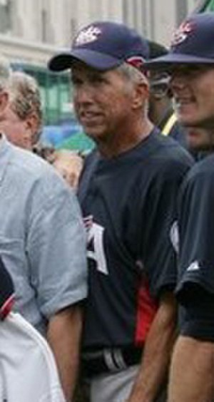 Davey Johnson - Johnson during the World Baseball Classic