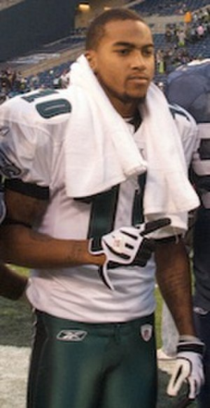 DeSean Jackson - Jackson after a game on November 2, 2008 against the Seattle Seahawks