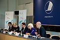 De nordiska statsministrarna mots vid Nordiska Radets session i Kopenhamn.jpg