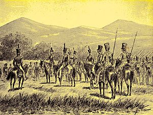 First Bone War - Royal Netherlands East Indies Army troops at Bone.