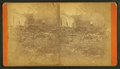 Debris and damaged buildings from explosion, by H. P. McIntosh 9.png