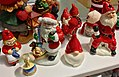Decorative Santa nisse tomte figurines etc. (nissefigurer) Fretex (charity thrift shop) Lars Hilles gate, Bergen, Norway, 2017-11-01 d.jpg