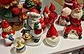 Decorative Santa nisse tomte figurines etc. (nissefigurer) Fretex (charity thrift shop) Lars Hilles gate, Bergen, Norway, 2017-11-01 d.jpg