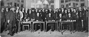 Elfstedentocht - Competitors of the first (1909) Elfstedentocht