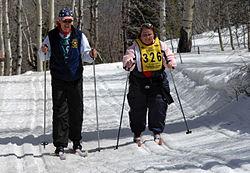 Vapaa hiihtotapa