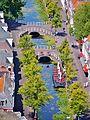 Delft Blick von der Nieuwe Kerk auf die Grachten 8.jpg