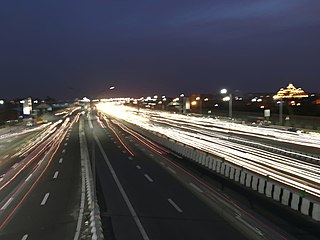 Controlled-access expressway in India