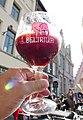 Delirium Red der belgischen Brauerei (Brouwerij) Huyghe.jpg