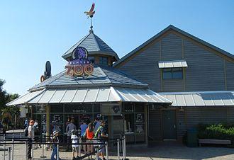 Denver Zoo - Entrance pavilion