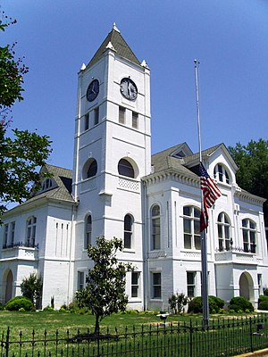 National Register of Historic Places listings in Desha County, Arkansas - Image: Desha County Courthouse 001