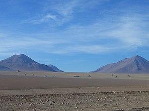 Salvador Dali desert rocks, Bolivia