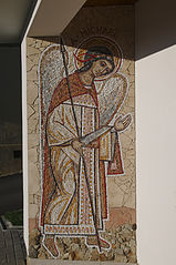 Mosaic of Archangel Michael