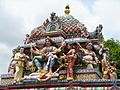 Detail of the statue of the Hindu Goddess Kali (Sri Veeramakaliamman temple) (4620131519).jpg