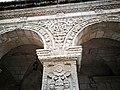 Detall dels Arcs gravats del Claustre de l'església convent de la Compañia de Jesús d'Arequipa02.jpg