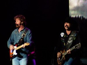Brooks & Dunn discography - Ronnie Dunn (left) and Kix Brooks.