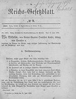 Krankenversicherung 1883