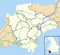 Lundy is located in Devon