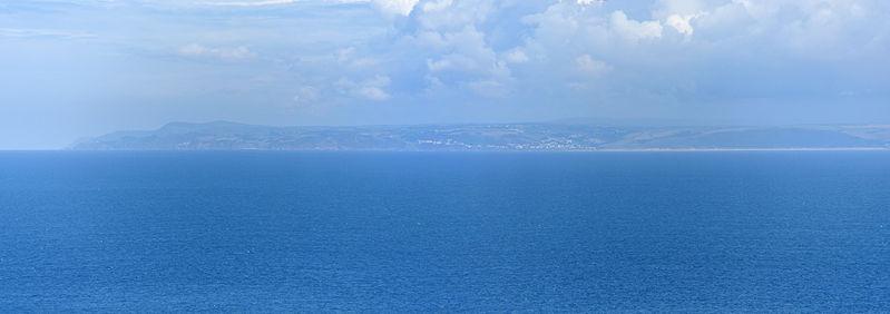 File:Devon coast from Lundy.jpg