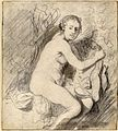 Diana at the bath drawing by Rembrandt van Rijn.jpg