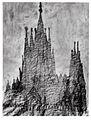 Dibujo del proyecto para la Sagrada Familia realizado por Antoni Gaudí.jpg