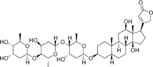 Digoxin structure.png