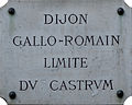 Dijon limite du castrum 01.jpg