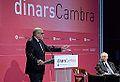 Dinar Cambra amb Salvador Alemany, president d'Abertis i del CAREC, 24 d'octubre de 2013 (2).jpg