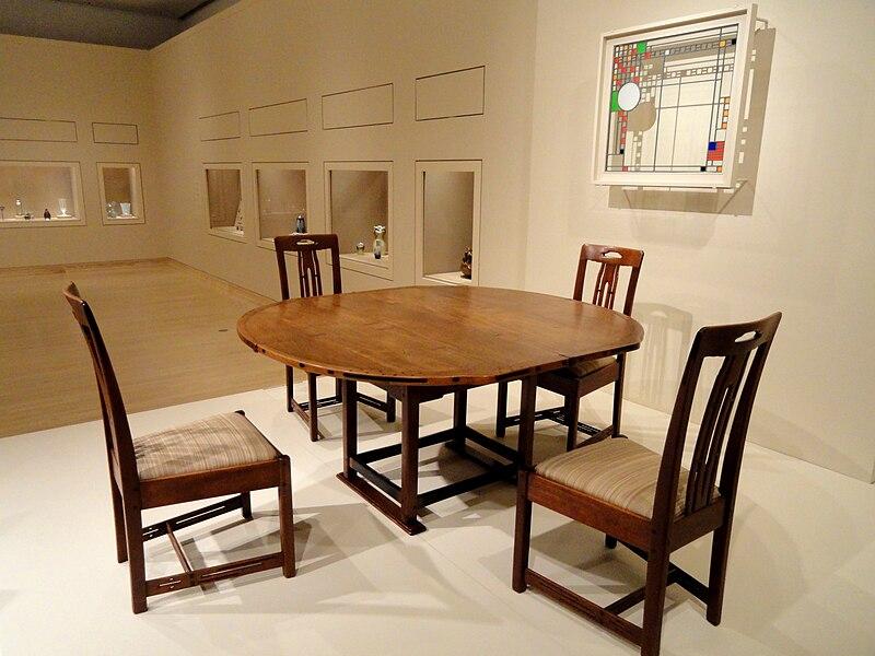 File:Dining Room Suite, Greene & Greene - Indianapolis Museum of Art - DSC00550.JPG