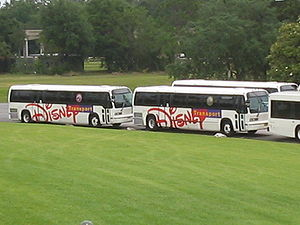 Busses Disney, Orlando, May 2005