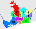 Districts of Barcelona numbered.PNG