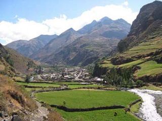 Aquia District District in Ancash, Peru