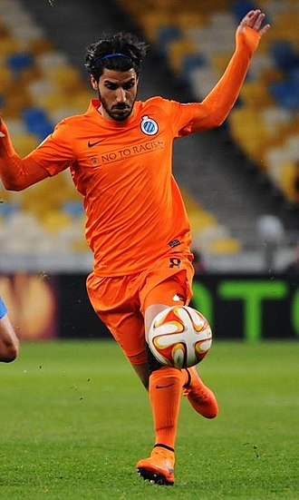 Lior Refaelov - Refaelov in the Club Brugge in 2015.