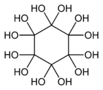 Dodecahydroxycyclohexane-2D-skeletal.png