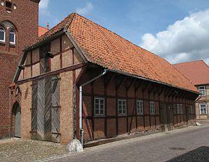 Dömitz - Image: Doemitz Feuerwehrhaus