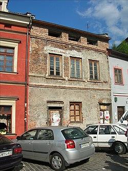 Helena Rubinstein was born in this house in Kazimierz in Krakau