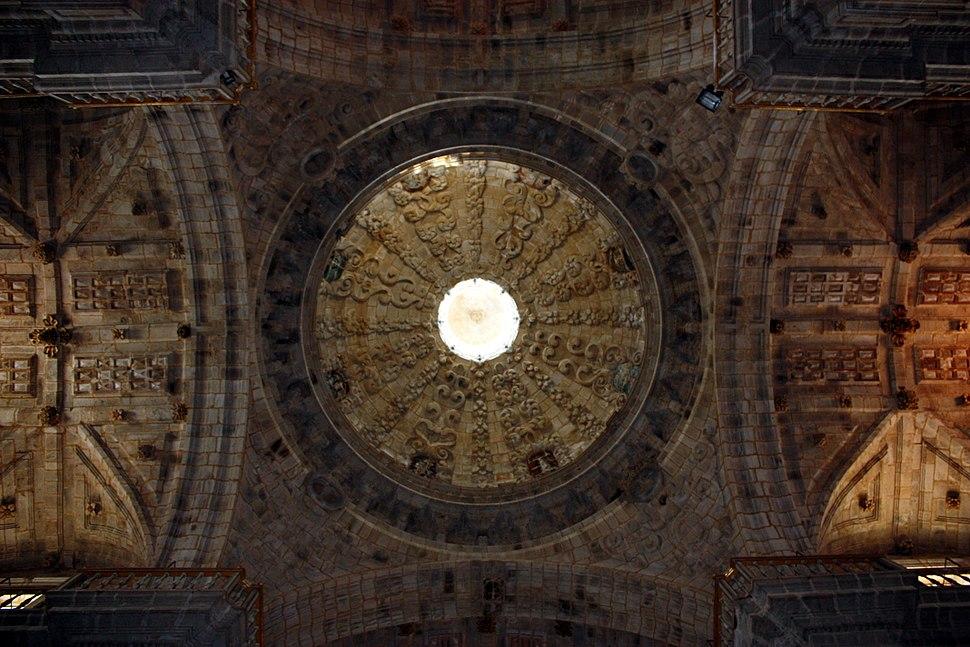 Dome of San Salvador monastery, Celanova, Ourense, Galicia
