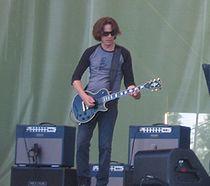 Dominic Miller and Sting at PoriJazz 2006.jpg
