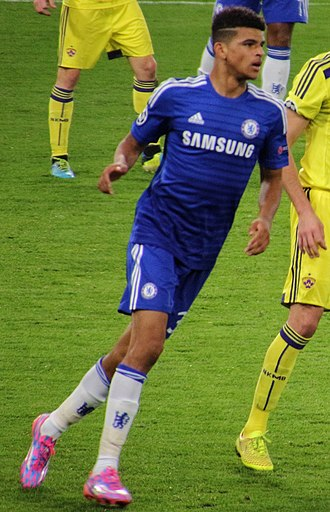 Dominic Solanke - Solanke playing for Chelsea in 2014