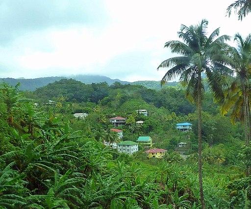 Dominica, Karibik - View Laudat - panoramio
