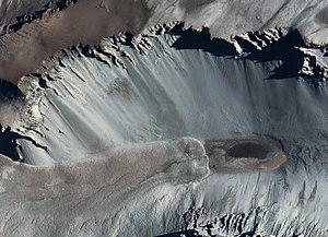 Don Juan Pond - Satellite photo