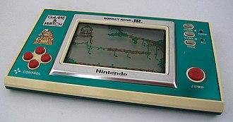 Donkey Kong Jr. - Image: Donkey Kong Jr. Game&watch