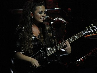 """Don't Forget (song) - Lovato performing """"Don't Forget"""" during An Evening with Demi Lovato"""