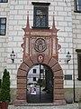 Door of Trebon, Castle, CZ - panoramio.jpg