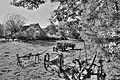 Dorfidylle aus längst vergangener Zeit; Idyllic village from long ago (8206308302).jpg
