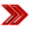 Double arrow neon red right.png