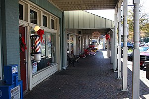 Northport, Alabama - A view of Downtown Northport